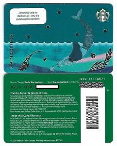 Geschenkkarte Starbucks Card Poland Polen Meerjungfrau Sirene Siren -0731-