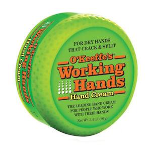 O'Keeffe'S Working Hand Cream Dry Hands Crack Split Fast Relief UK