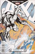 Avengers Vs X-Men 4 F variant Marvel Spider-Man Iceman Phoenix John Romita Jr VF