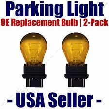Parking Light Bulb 2-pack OE Replacement Fits Listed Toyota Vehicles - 4157NAK