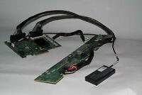 DELL W814D BACKPLANE + T954J PERC 6/I SAS RAID CARD W/ BATTERY & CABLES