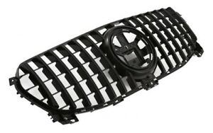 ✅ Grille Panamericana Gt Look Black for Mercedes Gle V167 W167 C167 New