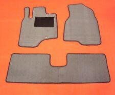Passform-Velours-Fußmatten für Opel Antara Autoteppiche grau mit Befestigungen