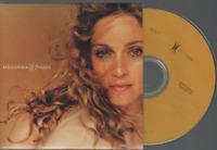 Madonna Frozen Cd Single Card Sleeve