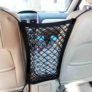 1pc Universal Car Trunk Storage Cargo Luggage Elastic Mesh Net Bag Holder Pocket