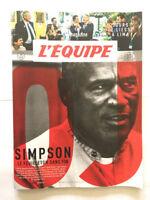 L'EQUIPE MAGAZINE N°1835 SIMPSON LE FEUILLETON SANS FIN LIMA JEUX OLYMPIQUES