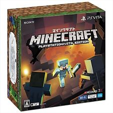 SONY PlayStation Vita Minecraft Special Edition Bundle Console Japan Import NEW