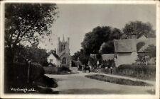 Haslingfield near Harston & Cambridge # 2. Road to Church.