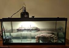 """Md Pickup only_20 Gallon Long Glass Tank 30""""L x 12.75""""W x 12.75""""H with filter"""