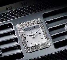 Mercedes DASH CLOCK BEZEL With Swarovski Crystal W212 14'-ON W218 E CLS CLASS