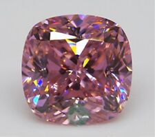 11.45ct UNHEATED Pink Sapphire 12mm Cushion Shape AAA Color Loose GEMSTONE