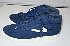 NEW Men's 10 Tretorn x Andre Benjamin 3000 Nylite Hi XAB2 Blue Shoe White
