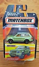 Best of Matchbox SERIES 2 2017 - RANGE ROVER SPORT - OLIVE GREEN - MB691 (A+/B)
