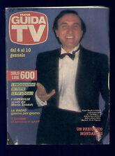 GUIDA TV 1/1987 EVELYN E LA MAGIA.. YOSEI PERUSHA HE MAN CRINGER MASTERS PUFFI
