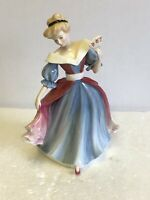 "Beautiful Royal Doulton Classics ""Amy"" Figurine of The Year 1991 HN3316"