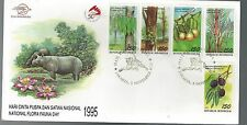 1995 Indonesia FDC Flora Fauna  Scott 1622------