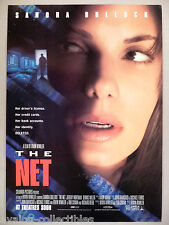 """The Net"" Movie Release PRINT AD - 1990 ~~ Sandra Bullock"