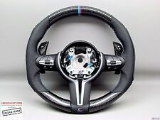BMW F15 X5M F16 X6M F80 M3 F82 M4 Alcantara M Ring Thicker CARBON Steering WHEEL
