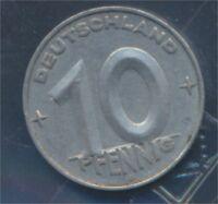 DDR Jägernr: 1507 1952 E vorzüglich Aluminium 1952 10 Pfennig (8267868