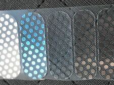 Jamberry Half Sheet - Rise Above - Retired Metallic Silver Polka on Clear