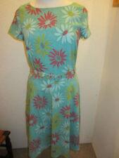 Geblümte knielange Damenkleider in Größe XL