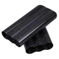 Carbon Fiber Cigar Case Box 3 Tubes Tobacco Holder Pocket Cigars Travel Humidor