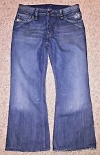 Diesel Industry Mens ZAF Boot Cut Button Fly Jeans Made in Italy Size 31 X 25.5