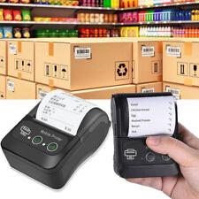 Portable USB Wireless BT 58mm Thermal Receipt Printer Mobile POS Label Printer