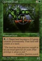 MtG x1 Quirion Druid Visions - Magic the Gathering Card