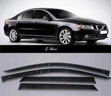 For Volvo S80  Sedan 2006-2013 Wide Window Visors Side Guard Vent Deflectors
