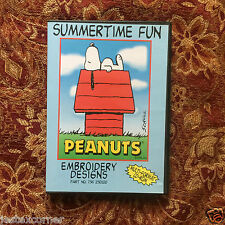 Snoopy Peanuts Summertime Fun Cartoons Embroidery Designs Multi-format  CD