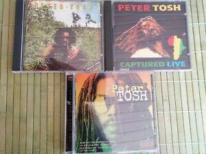 Peter Tosh CD Sammlung 3xCD