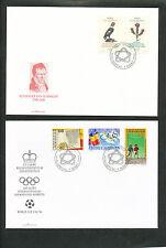 Liechtenstein FDC's 1994 compleet