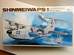 Hasegawa 1:72 Scale Shinmeiwa PS-1 Anti-Sub Patrol Flying Boat Model Kit - New