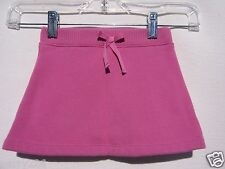 The Children's Place Girl Toddler Solid Pink Cotton Skort Size 24 Months NWT