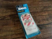 """Ideal 44-833 Lockout Tag Heavy Duty, """"Do Not Operate"""" Striped, 5/Cards 65520"""