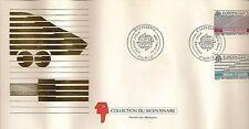 ENVELOPPE PREMIER JOUR EUROPA TRANSPORTS URBAINS DE DEMAIN PARIS 1988