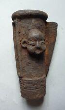 Statue art africain_terre cuite de l'ethnie Bamoum du Cameroun