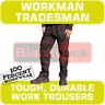 "Blackrock Mens Cargo Combat Work Wear Trousers Pants Knee Pad Pockets 30"" to 44"""