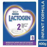 Nestle LACTOGEN 2 Follow-Up Formula Powder After 6 months Stage 2 400g BIB Pack