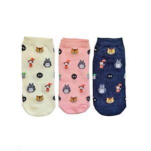 Totoro With Girl Women Ankle Socks. Cute Socks. Good for gift. Australia seller