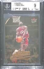2004--05 Fleer Ultra Basketball Gold Medallion #114 LeBron James BGS 9