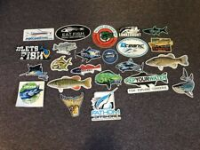 23 Fly Fishing Stickers #23A Hook Tackle Hooked For Life Fish Casper Lunkerhunt