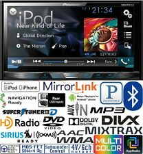 Pioneer Double Din DVD CD Player Car Pandora Android AUX Iphone USB Bluetooth HD