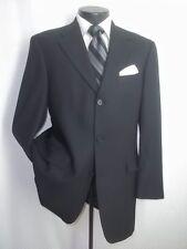 Nordstrom Ted Baker London Black Wool 3 Buttons Blazer Coat Jacket 40 R
