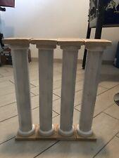 colonne legno diorama assemblabili grezze