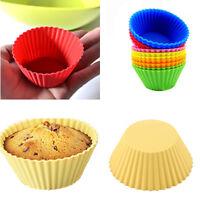 NEU 12 x Muffin Förmchen Muffinform Back-Förmchen Silikon Cup Cake Kuchen Set