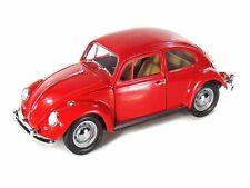1:18 Yatming Yat Ming Road Signature Red 1967 Volkswagen Beetle Bug Item 92078