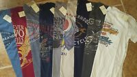 LUCKY BRAND Men's Short Sleeve Cotton Graphic T-Shirts JOURNEY/CASH/NASHVILLE