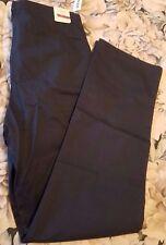 New Old Navy straight leg girls navy khaki pants w/reinforced knees sz 16